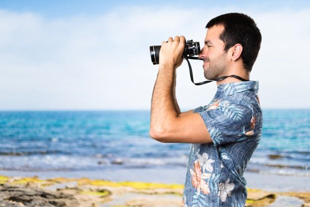 binoculars-beach