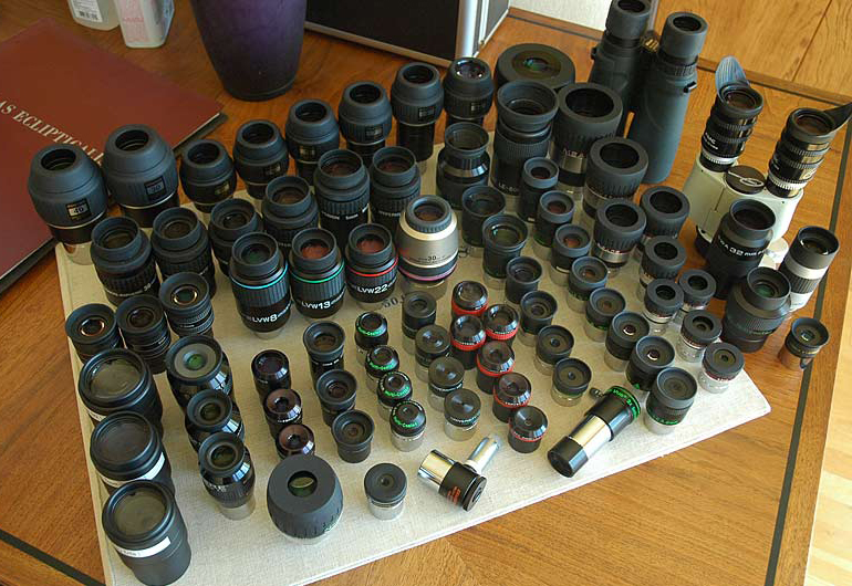 astronomical coated eyepieces